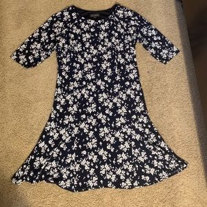 Jessica Howard navy Floral 14w Dress